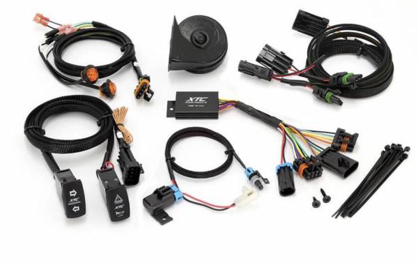 XTC Power Products - XTC Can-Am Maverick Plug & Play Self-Cancelling Turn Signal System with Horn