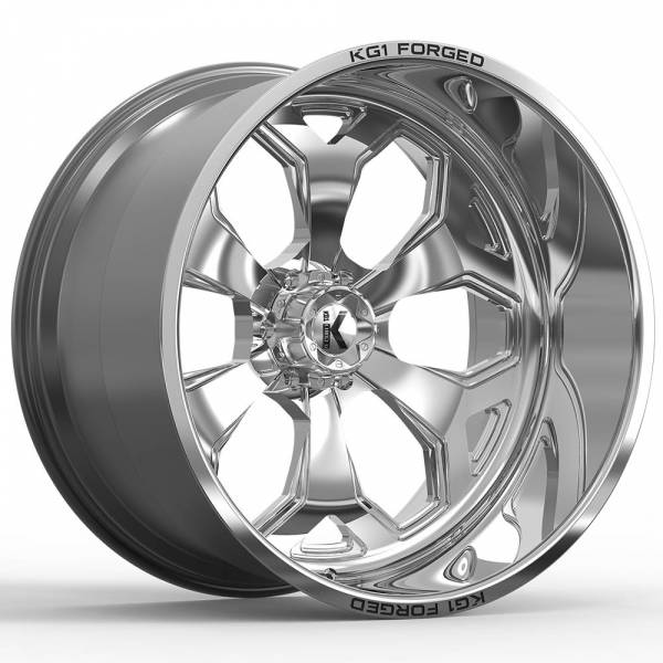KG1 Forged - KG1 Forged KNOX KF008 Polished (any lug pattern) 24x12 -44