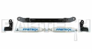 Steering, Gear and Related Components - Steering Damper Kit - Fabtech - Fabtech Steering Stabilizer Kit FTS8000