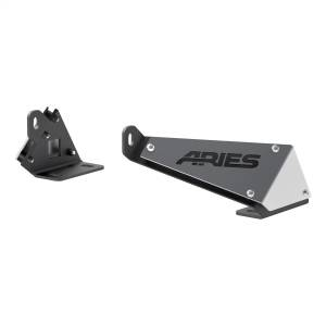 Lighting - Exterior - Light Bar Mounting Kit - ARIES - ARIES Jeep Hood Light Mounting Brackets 15912