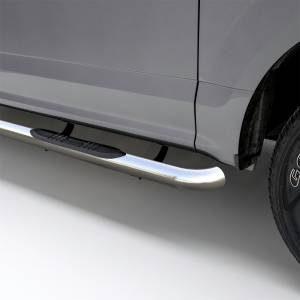 Rocker Panel - Step Nerf Bar - ARIES - ARIES 3 Inch Round Side Bars 201000-2
