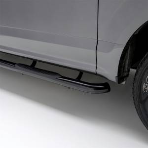 Rocker Panel - Step Nerf Bar - ARIES - ARIES 3 Inch Round Side Bars 201002