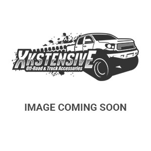 Appearance Products - Headlight Guard - KC HiLiTES - KC HiLiTES 6in. Apollo Stone Guard-KC #7216 (Black with White KC Logo);Grill; 6in. Black Apollo Stone Guard (ea) 7216