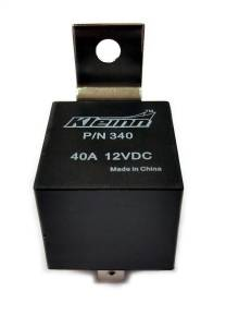Relays - Horn Relay - Kleinn Automotive Air Horns - Kleinn Automotive Air Horns Sealed 12-volt; 40-amp; 5-post SPDT Relay 340