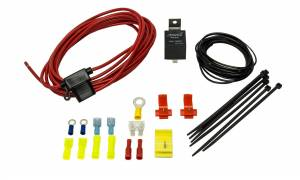 Horns - Air Horn Compressor Wiring Kit - Kleinn Automotive Air Horns - Kleinn Automotive Air Horns 12 gauge comp. wiring; 40A relay; 13 ft with 30 amp ATC fuse holder 6851