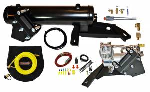 Horns - Air Horn Compressor Kit - Kleinn Automotive Air Horns - Kleinn Automotive Air Horns Complete Bolt-on Can-Am Heavy Duty Onboard Air System CANX3-OBA