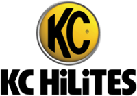 KC HiLiTES - KC HiLiTES 6in. SlimLite Halogen Replacement Jeep Wrangler TJ (97-04)-Black (Fog Beam) 1131