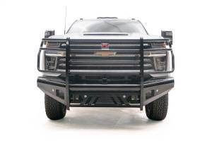 Fab Fours Black Steel Front Ranch Bumper CH20-S4960-1