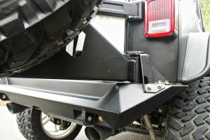 Spare Tire and Wheel - Spare Tire Carrier - Fab Fours - Fab Fours Off The Door Tire Carrier JP-Y1261T-B