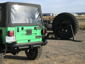 Spare Tire and Wheel - Spare Tire Carrier - Fab Fours - Fab Fours Spare Tire Carrier JP-Y1251T-B