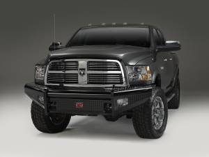 Fab Fours Black Steel Front Ranch Bumper DR06-S1161-1