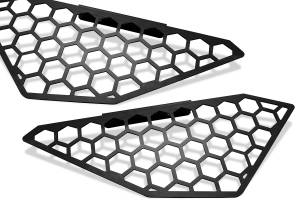 Grille - Grille - Fab Fours - Fab Fours Vengeance Side Light Mesh Insert Cover M2650-B