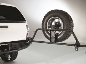 Spare Tire and Wheel - Spare Tire Carrier - Fab Fours - Fab Fours Spare Tire Carrier TT-Y1351T-B