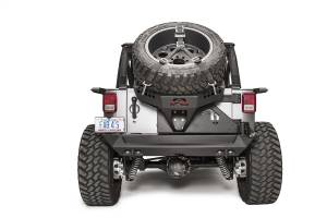 Spare Tire and Wheel - Spare Tire Carrier - Fab Fours - Fab Fours Spare Tire Carrier JK2070-B
