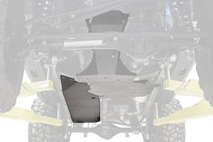Frame - Skid Plate - Fab Fours - Fab Fours Gas Tank Skid Plate JK3030-B