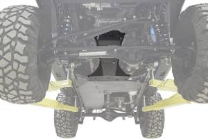 Frame - Skid Plate - Fab Fours - Fab Fours Transmission And Oil Pan Skid Plate JK3032-B
