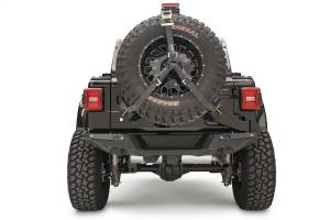 Spare Tire and Wheel - Spare Tire Carrier - Fab Fours - Fab Fours Spare Tire Carrier JL2070-B