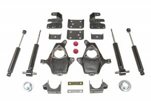 Frame - Suspension Body Lowering Kit - MaxTrac - MaxTrac Lowering Kit K331336S