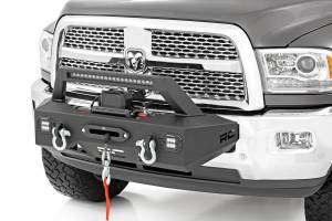 Winch - Winch Mount - Rough Country - Rough Country EXO Winch Mount System (14-18 Ram 2500) 31007