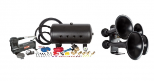 HornBlasters - Katrina 544K Nightmare Edition Train Horn Kit (This Kit does both! Honking & Capable Onboard Air Unit) - Image 1