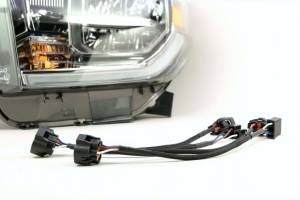 Wire, Cable and Related Components - Headlight Wiring Harness - XKOR - Toyota Tundra OEM LED Conversion 14+