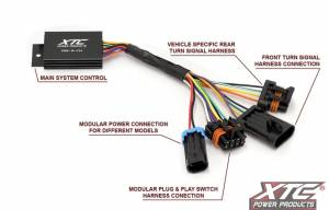 XTC Power Products - XTC Can-Am Maverick Plug & Play Self-Cancelling Turn Signal System with Horn - Image 3