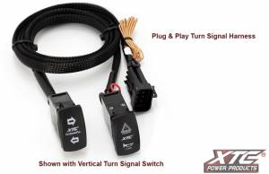 XTC Power Products - XTC Can-Am Maverick Plug & Play Self-Cancelling Turn Signal System with Horn - Image 4