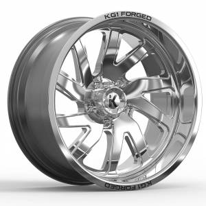 KG1 Forged - KG1 Forged VILE KF004 Polished (any lug pattern) 24x12 -44 - Image 1