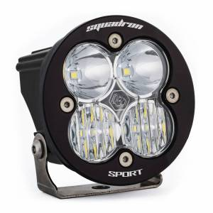 Lighting - Exterior - Auxiliary Light - Baja Designs - Baja Designs Squadron-R Sport auxiliary light using 4 leds 1,800 lumens in a 3.5x3.5 housing. 580003