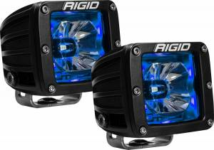 Lighting - Exterior - Auxiliary Light - RIGID Industries - RIGID Industries LED Pod with Blue Backlight Radiance 20201